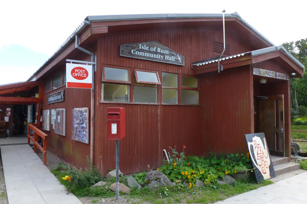 The Isle of Rum Community Centre, Post Office and General Store