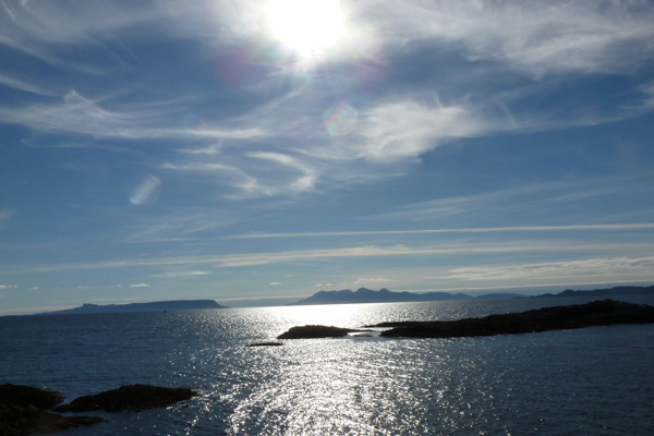 Eigg and Rum from Mallaig