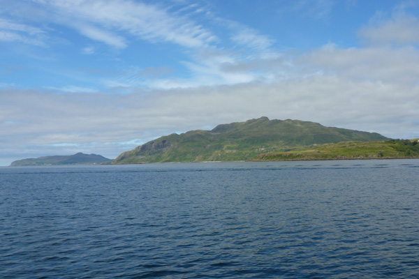Ben Hiant on the south coast of Ardnamurchan