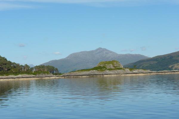 Ben Resipole from Loch Sunart
