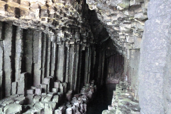Inside Fingals cave